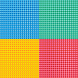 Set z piksla wzorem Obraz Stock