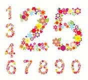 Set Zahlen Stockbilder