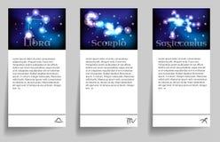 Set zodiac Stock Photo