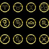 A set of zodiac signs. vector illustration