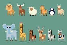 Set zwierzę Zdjęcia Stock