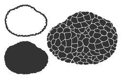 Seta abstracta stock de ilustración