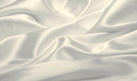Seta bianca Immagine Stock