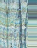 Seta in blu Fotografia Stock