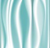 Seta blu Fotografia Stock