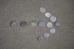 Seta de pedra Fotos de Stock