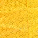 Seta del tessuto dell'oro Fotografia Stock
