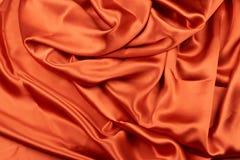Seta di rame rossa brillante Fotografia Stock