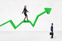 Seta do sucesso Fotografia de Stock