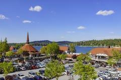 A seta famosa do lago Imagens de Stock