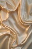 Seta liscia dell'oro per priorità bassa Immagine Stock Libera da Diritti