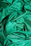 Seta lucida verde Fotografie Stock Libere da Diritti
