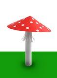 Seta roja Imagen de archivo