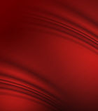 Seta rossa Immagini Stock