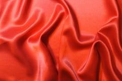 Seta rossa Fotografie Stock