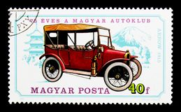 Seta, 1915, 75th aniversário do serie húngaro do clube de automóvel Imagens de Stock Royalty Free