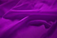 Seta viola Fotografia Stock