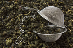 Setaccio del tè Immagini Stock Libere da Diritti
