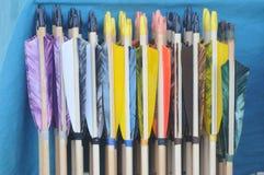 Setas coloridas Foto de Stock Royalty Free