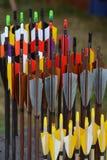 Setas coloridas Fotos de Stock