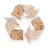 Setas de papel recicl. Imagens de Stock Royalty Free