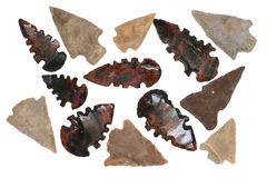 Setas do nativo americano Imagens de Stock