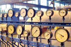 Setas dos tacômetros Fotografia de Stock Royalty Free
