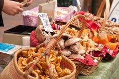 Setas en el mercado de sábado imagen de archivo libre de regalías