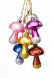 Setas hermosas de la decoración de la Navidad Imágenes de archivo libres de regalías