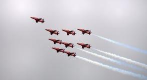 Setas vermelhas Imagem de Stock Royalty Free