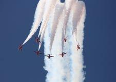 Setas vermelhas Fotografia de Stock Royalty Free