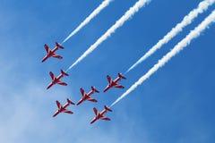 Setas vermelhas Foto de Stock