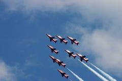 Setas vermelhas Foto de Stock Royalty Free