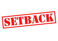 SETBACK Royalty Free Stock Photo