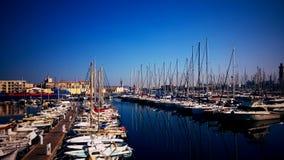 Sete港在法国 库存照片