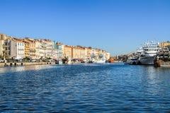 Sete, ao sul de França Fotos de Stock Royalty Free