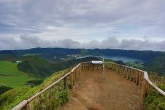 Sete Cidades - Азорские островы - Португалия Стоковое Изображение RF