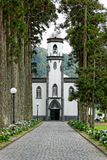 Sete Cidades Church, Island of Sao Miguel Stock Photography