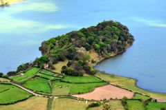 Sete Cidades lagoon, Sao Miguel, Azores, Portugal. Sete Cidades lagoon, Sao Miguel, Azores stock image