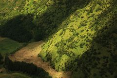 Sete Cidades landscape in a beautiful sunny day