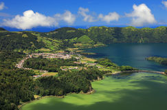 Sete Cidades landscape. Sao Miguel Island, Azores, Europe Royalty Free Stock Image