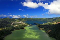 Sete Cidades landscape. Sao Miguel Island, Azores, Europe Royalty Free Stock Photography