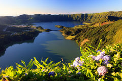 Sete Cidades landscape. Sao Miguel Island, Azores, Europe Stock Images