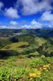Sete Cidades landscape Stock Photos