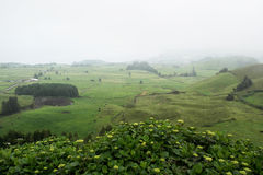 Sete Cidades, Sao Miguel, Portugal Royalty Free Stock Photos