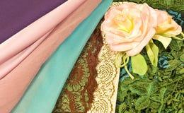 Sete e rose fotografie stock libere da diritti