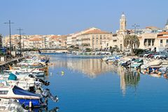 Sete, France royalty free stock photos