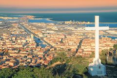 Sete, France stock images