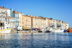 Sete, Languedoc-Roussillon, south of France royalty free stock photography