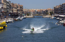 Sete - French Riviera - South of France royalty free stock image